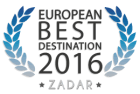 Zadar, European Best Destination 2016.
